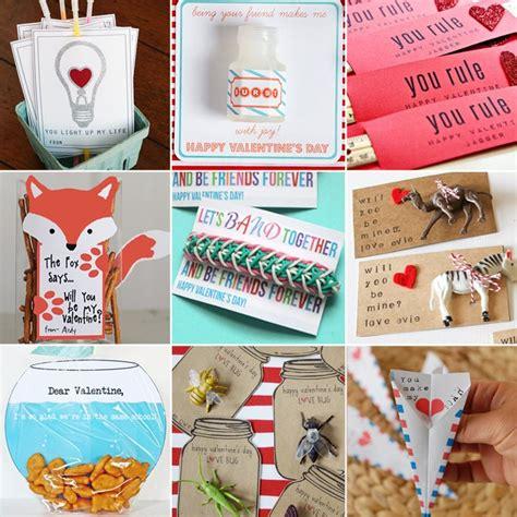 Diy Printable School Valentine's Day Cards For Kids