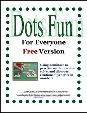 the best of teacher entrepreneurs free math lesson dots fun for everyone free activities