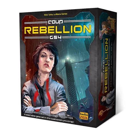 coup rebellion  card game  gamesmen