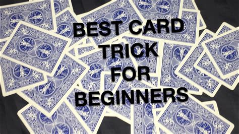 Friends, once cool card trick that you like it before you. Card trick for beginners - YouTube