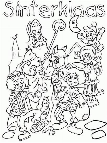 Sinterklaas Kleurplaat Kleurplaten Voor Intocht Sint Volwassenen