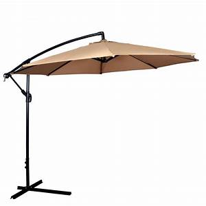 New patio umbrella offset 1039 hanging umbrella outdoor for Offset patio umbrellas