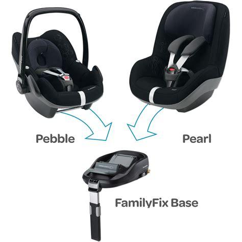 siege auto bebe avec systeme isofix embase siège auto family fix groupe 0 1 de bebe confort