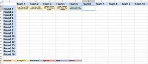 make your own free on screen fantasy football draft board With fantasy football draft board template