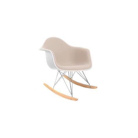 chaise bascule eames chaise à bascule rar inspirée charles eames s achat