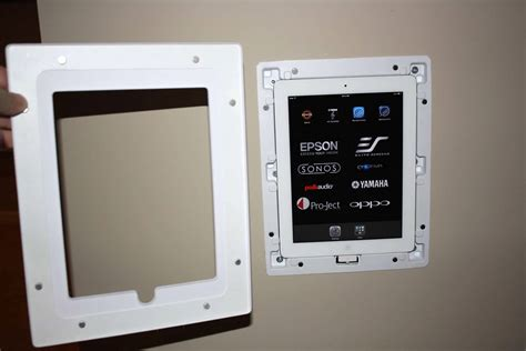 ipadtablet wall mounting thread avs forum home theater discussions  reviews