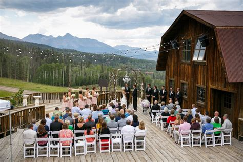 telluride ski resort telluride  wedding venue