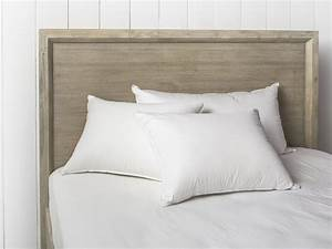 down pillow inserts 750 fill power in soft medium With down filled bed pillows