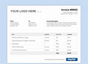 Html invoice template free free excel templates for Free invoice template html invoice template free