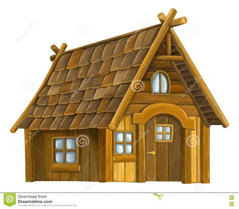 antique iron wooden house stock illustration image