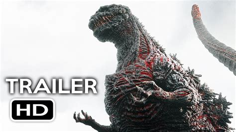 Godzilla Resurgence Official Us Trailer #1 (2016) Shin