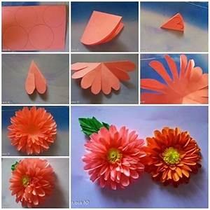 How To Make 10 Different Flower Craft Tutorials - Step by