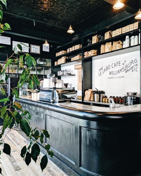 Their energy drinks and teas are yummy too, especially with their housemade flavor syrups. Le Labo Cafe, Williamsburg, NYC #cafe #coffeeshop Photo ...