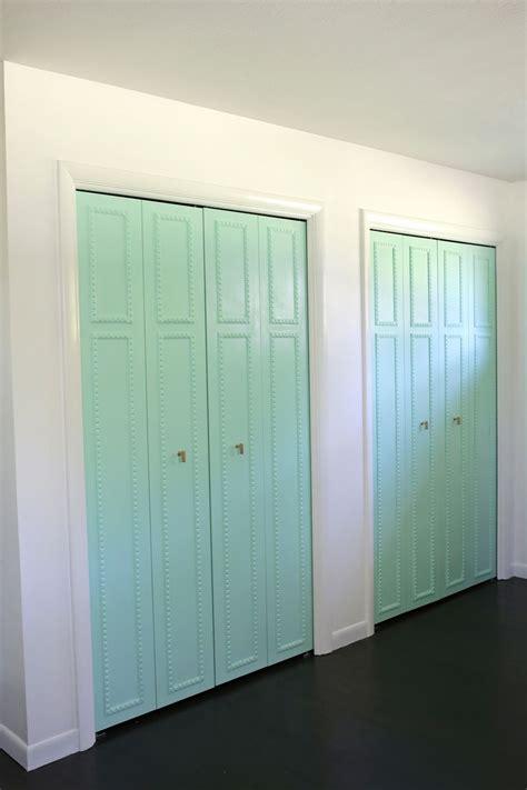 Beautiful Closet Doors by Customize Your Closet Doors With Trim A Beautiful Mess