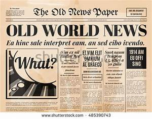 old fashioned newspaper template free - newspaper stock photos royalty free images vectors