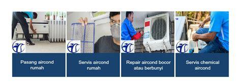 khidmat membaiki aircond baiki repair install mengisi