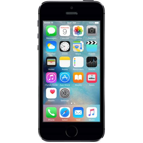 iphone 5c prepaid new sealed apple iphone 5s 16gb space gray at t