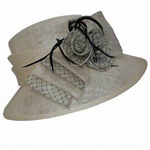 Chapeau Anglais Femme Mariage : chapeau de c remonie noir et blanc ~ Maxctalentgroup.com Avis de Voitures