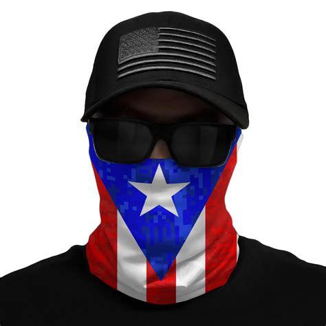 Puerto Rico Flag Multi-Use Face Bandana – Elite Athletic Gear