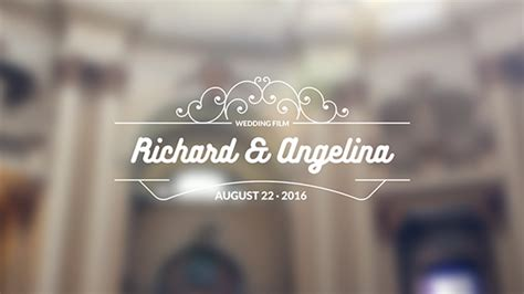 After Effects Template Eventes by 20 Wedding Titles Special Events After Effects Templates