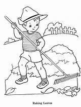 Rake Coloring Boys Drawing Pages Leaves Pharmacy Raking Embroidery Boy Clipart Books Abhiyan Colouring Swachata Sheets Paint Cartoon Sheet Drawings sketch template