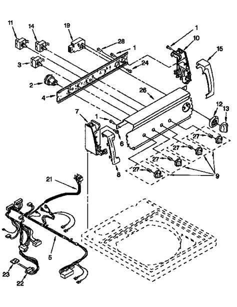 Kenmore Dryer Wiring Harnes Diagram by Kenmore 80 Series Electric Dryer Wiring Diagram Auto