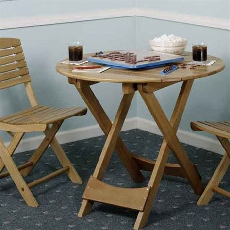 woodworking project paper plan  build folding table