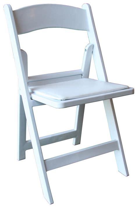 wedding style folding chairs