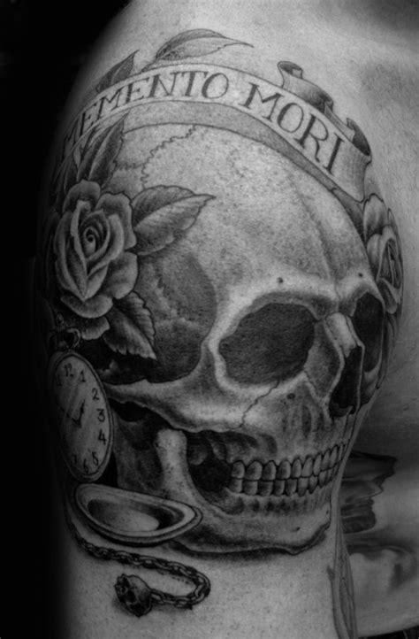 60 Memento Mori Tattoo Designs For Men - Manly Ink Ideas