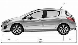 Dimensions 308 Peugeot : dimensions 1 10 peugeot 308 phase 2 2012 ~ Medecine-chirurgie-esthetiques.com Avis de Voitures