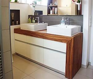 Badezimmermöbel Aus Holz : waschtischunterschrank stehend ~ Pilothousefishingboats.com Haus und Dekorationen