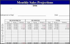 Financial Projections Example 5 Cash Projection Template Sampletemplatess