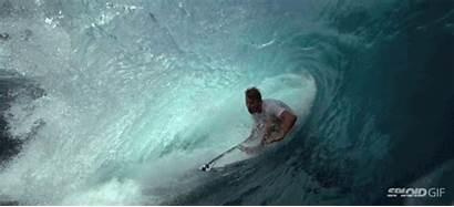Sea Monster Swallow Watching Surfers Seeing Ocean