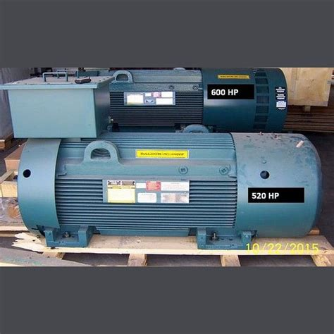 Electric Motor Suppliers by Baldor Electric Motor Supplier Worldwide Used 520 Hp