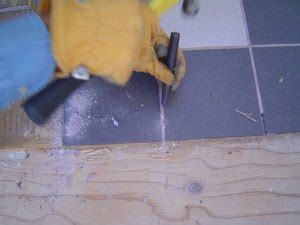 how to remove ceramic floor tile removing ceramic tile flooring backerboard base