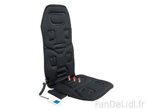 siege lidl couvre siège massant auto accessoires voiture fan de