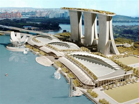 The Architectural Concept Design Marina Bay Sands