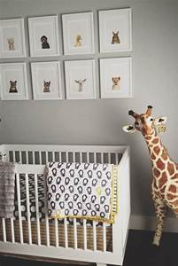 nursery art ideas contemporary nursery grant k gibson With kitchen colors with white cabinets with stuffed animal wall art
