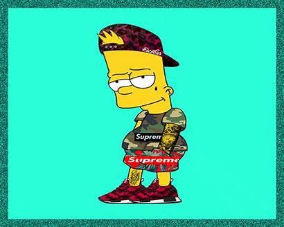 Bart Supreme Simpson Wallpapers Pixel Simpsons Cartoon