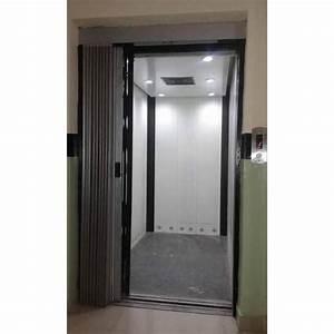 Glass Manual Passenger Elevator  For Residential  Max