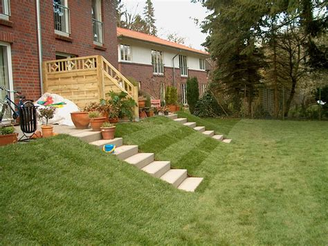 Stufen Im Garten by Terrasse Mit Stufen Righini Garten Und Landschaftsbau