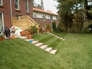 Terrasse Tiefer Als Garten : terrasse mit stufen righini garten und landschaftsbau ~ Orissabook.com Haus und Dekorationen