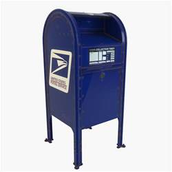 bureau postal max mailbox mail box