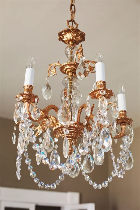 Fashioned Chandelier by Our Restyled Copper Chandelier A Beautiful Mess