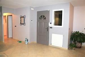 Peinture Pour Façade De Maison : d coration peinture entree maison ~ Premium-room.com Idées de Décoration