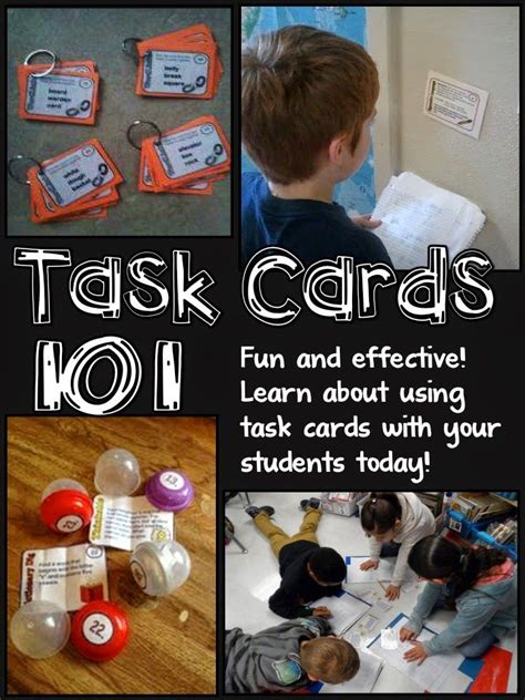 17 Best Images About Task Cards On Pinterest  Review Games, Cooperative Learning And Fractions