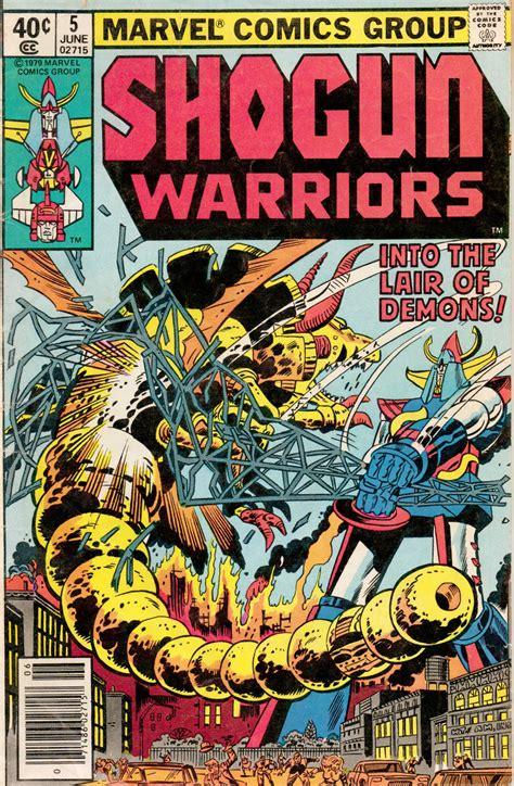 Shogun Warriors #5 @ Comics Bulletin | Marvel comics ...