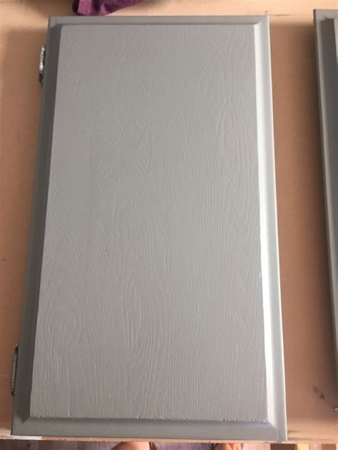 Add knobs to beveled edge cabinet doors?