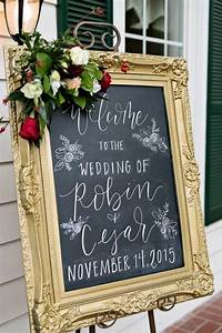 20 brilliant wedding welcome sign ideas for ceremony and