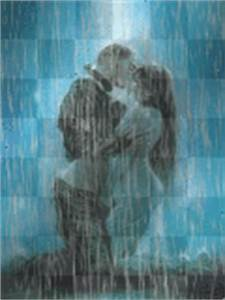 kiss in rain anime Graphics, Cliparts, Stamps, Stickers [p ...